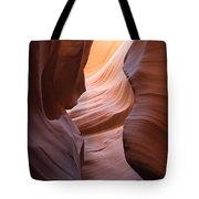 Colorful Antelope Canyon Waves Tote Bag