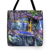 Colorful Antique Car 1 Tote Bag