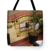 Colorful Balcony Tote Bag