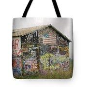 Colorful Barn Tote Bag