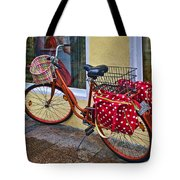 Colorful Bike Tote Bag