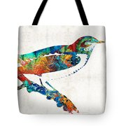 Colorful Bird Art - Sweet Song - By Sharon Cummings Tote Bag