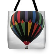 Colorful Black  Tote Bag