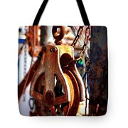 Colorful Boat Pully Tote Bag
