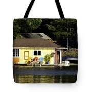 Colorful Boathouse Tote Bag