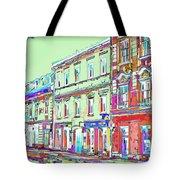 Colorful Buildings Tote Bag