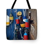 Colorful Buoys Tote Bag