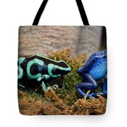 Colorful But Deadly Poison Dart Frogs Tote Bag