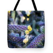 Colorful Cactus Red Purple Green Yellow Plant Fine Art Photography Print  Tote Bag
