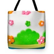 Colorful Cake Tote Bag
