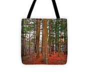 Colorful Carolina Forest Tote Bag