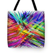 Colorful Cattails Tote Bag
