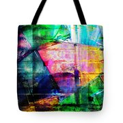 Colorful Cd Cases Collage Tote Bag