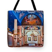 Colorful Church Tote Bag