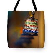 Colorful Clay Bells Tote Bag
