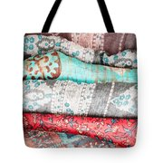 Colorful Cloths Tote Bag