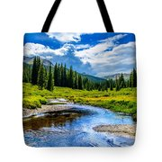 Colorful Colorado Tote Bag
