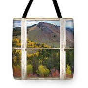 Colorful Colorado Rustic Window View Tote Bag by James BO  Insogna