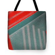 Colorful Concrete Steps Tote Bag