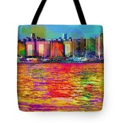 Colorful Coney Island Tote Bag