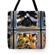 Colorful Contortion Tote Bag