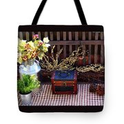 Colorful Country Still Life Tote Bag
