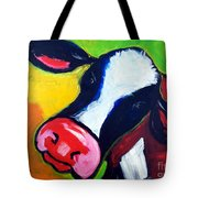 Colorful Cow Tote Bag