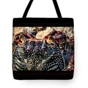 Colorful Crab Tote Bag