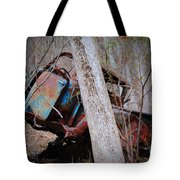 Colorful Crash Tote Bag