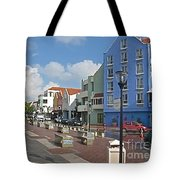 Colorful Curacao Tote Bag