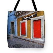 Colorful Doors Guanajuato Mexico Tote Bag