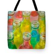 Colorful Drink Bottles Tote Bag