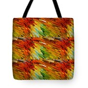 Colorful Extrude 2 Tote Bag
