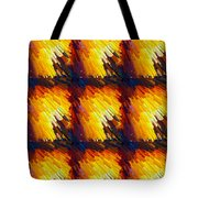 Colorful Extrude 4 Tote Bag