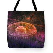 Colorful Fantasy Landscape Tote Bag