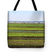 Colorful Fields Tote Bag