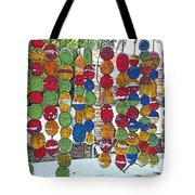 Colorful Fishing Floats Tote Bag