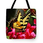 Colorful Flying Garden Tote Bag
