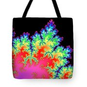 Colorful Fractal Artwork Tote Bag