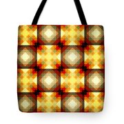 Colorful Geometric Collage Tote Bag