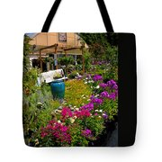 Colorful Greenhouse Tote Bag