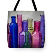 Colorful Group Of Bottles Tote Bag