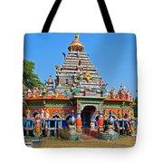 Colorful Hindu Temple Tote Bag