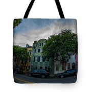Colorful Houses Tote Bag