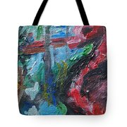 Colorful Impressionism Tote Bag
