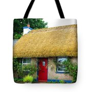 Colorful Irish Cottage Tote Bag
