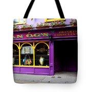 Colorful Irish Pub Tote Bag
