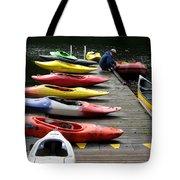 Colorful Kayaks At Whistler Bc Tote Bag