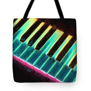 Colorful Keys Tote Bag