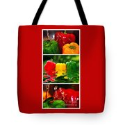 Colorful Kitchen Collage Tote Bag